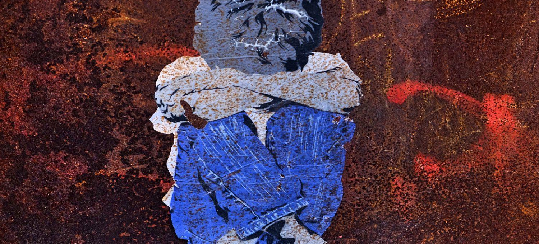 Graffito Junge von SeiLeise