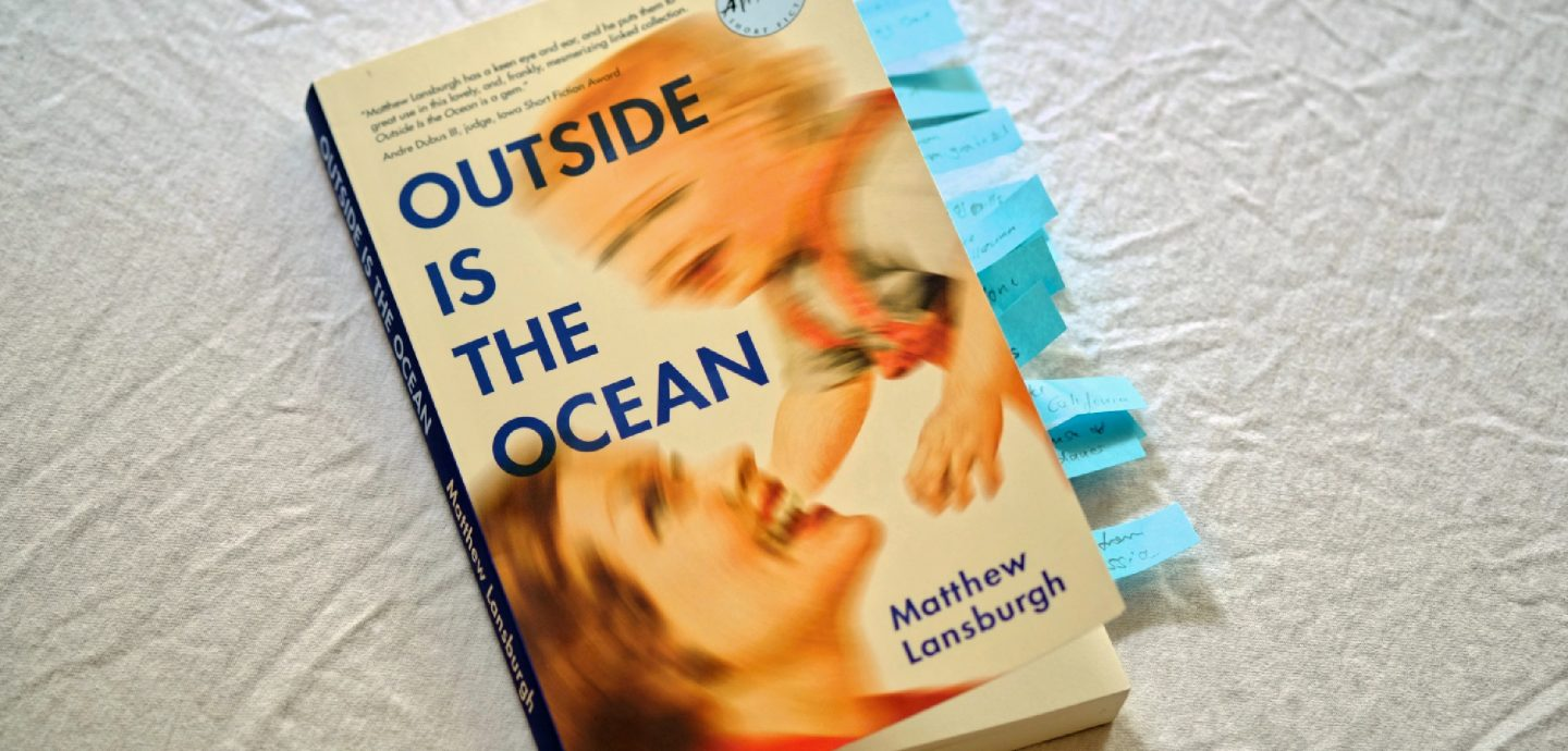 Matthew Lansburgh Outside Is The Ocean