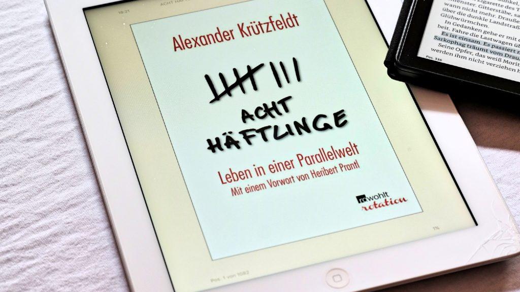 Alexander Krützfeldt: Acht Häflinge. Buchcover