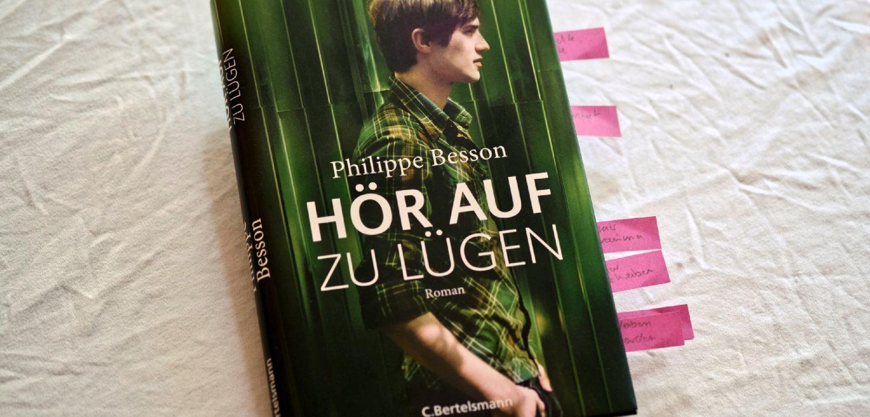 Philippe Besson: Hör auf zu lügen