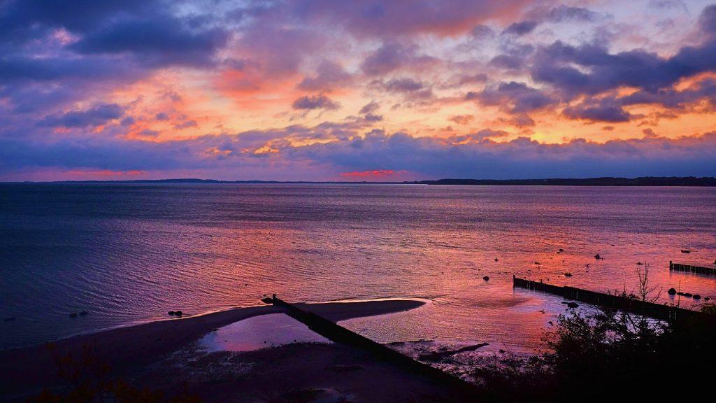 Sunrise Baltic Sea by Karl Ludger Menke